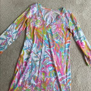 Colorful Pattern Lilly Pulitzer Dress